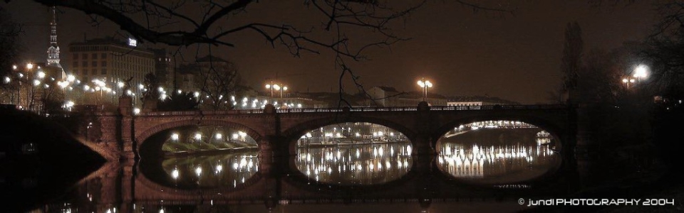 Turin,Torino,ponte Umberto I
