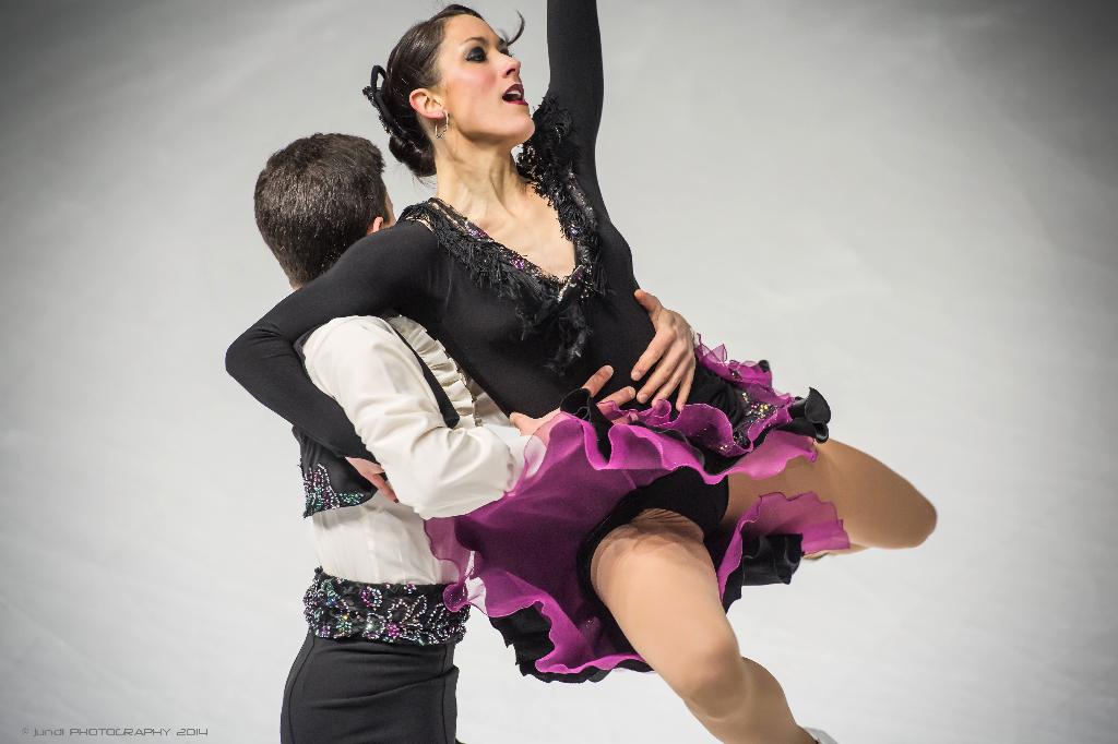 Charlene,Guignard,Marco,Fabbri,Campionati italiani 2014,Pattinaggio,Artistico,figura,coppie,Palavela,Torino